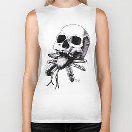 Skull Crab Biker Tank