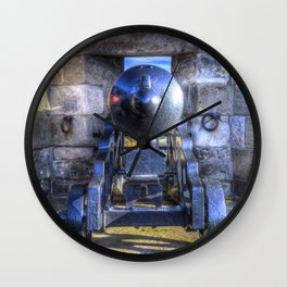 Cannon Edinburgh Castle Wall Clock