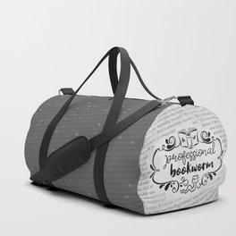 Professional Bookworm Paper Duffle Bag