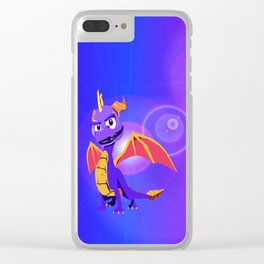 Spyro Clear iPhone Case