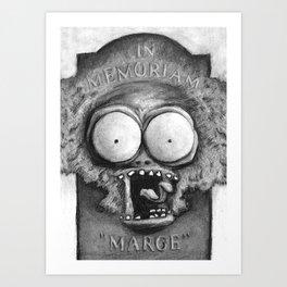 Tell 'em Large Marge sent ya! Art Print