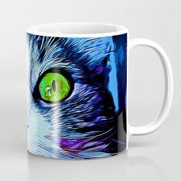norwegian forest cat omg vector art crisp winter Coffee Mug