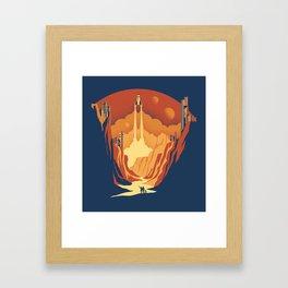 New World Framed Art Print