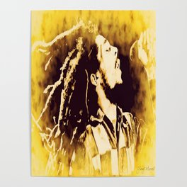 Yellow Marley Poster
