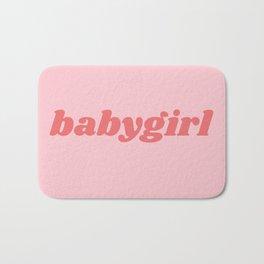 babygirl Bath Mat