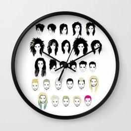 BK Timeline Wall Clock