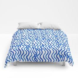 Indigo Wavey Comforters