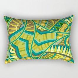 Ethnic Tribal Pattern Art N3 Rectangular Pillow