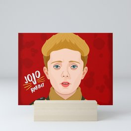 JoJo Rabbit Mini Art Print