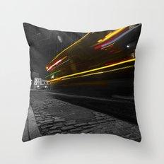 DUMBO Light trail Throw Pillow