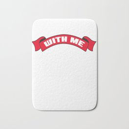 drink with me Shots Party Alcohol trust me Bartender Beer Waiter Liquor Bistro Glass Tequila Bath Mat