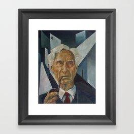 Bertrand Russell Framed Art Print