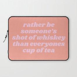 someone's shot of whisky Laptop Sleeve