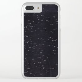 Bubbles-Two Clear iPhone Case