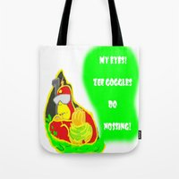 simpsons Tote Bags featuring Simpsons Moments by LylaLovitt