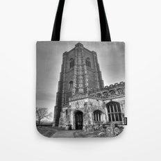 Church in B&W Tote Bag
