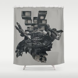 The Racist Undercurrent Maintains Paranoia Shower Curtain