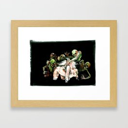 Feast Framed Art Print