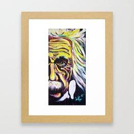 Albert Einstein   E=MC 2 Framed Art Print