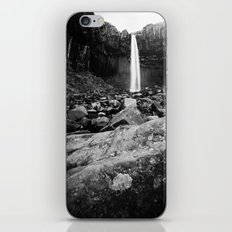 Svartifoss Waterfall Iceland iPhone & iPod Skin