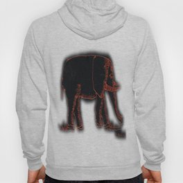 Elephants # 504 Hoody