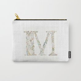 M of Leaves Carry-All Pouch