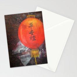 Chinese Lantern Stationery Cards