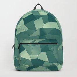 Geometric Shapes Fragments Pattern gr Backpack
