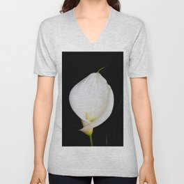 Calla Isolated Unisex V-Neck