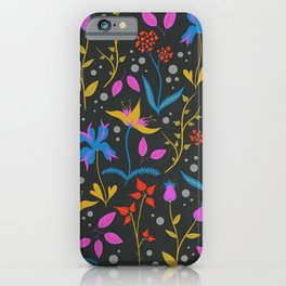 Floral III iPhone Case