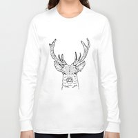 stag Long Sleeve T-shirts featuring STAG by ALFIE creative design