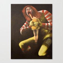 Big Mac Attack Canvas Print