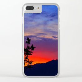 Glorious Sunrise Clear iPhone Case