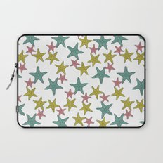 starfish tropical print Laptop Sleeve