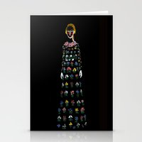 dress Stationery Cards featuring Dress by Danielle Case