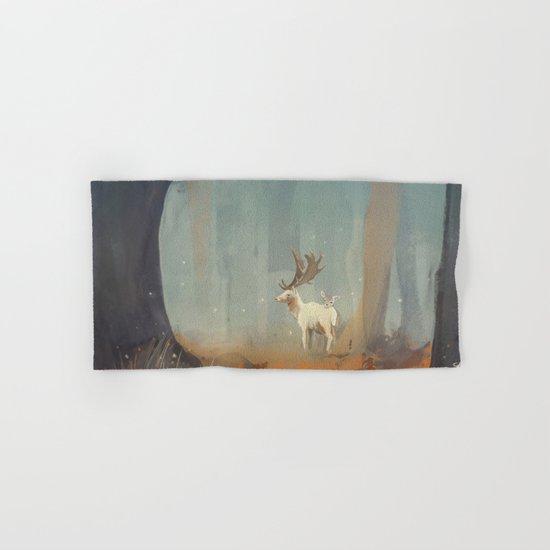 Deer Hand & Bath Towel