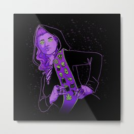 Witch Scout Metal Print