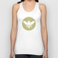 twins Tank Tops featuring Twins by Lídia Vives