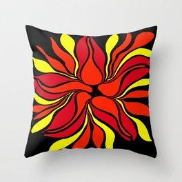 Fire Sprit Throw Pillow