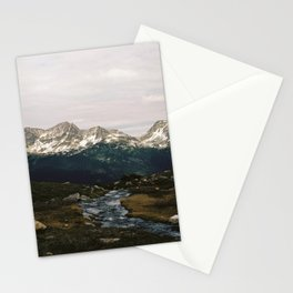 Whistler Mountain View, British Columbia Stationery Cards