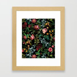 Floral Jungle Framed Art Print