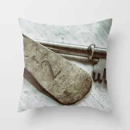 Room Number Two Throw Pillow