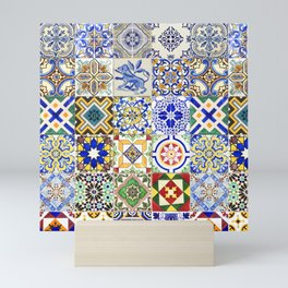Azulejo — Portuguese ceramic #15 Mini Art Print