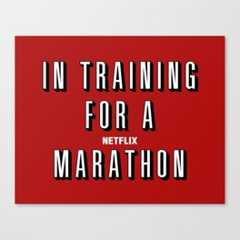 In Training Canvas Print