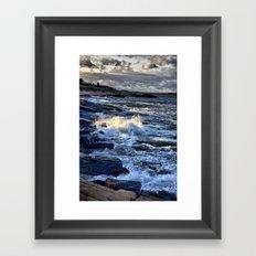 Newton's Rock, Narragansett, RI #24 Framed Art Print