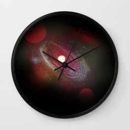 Star Birth Wall Clock