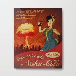Enjoy Nuka-Cola Metal Print