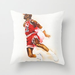 Jordan dunk Throw Pillow