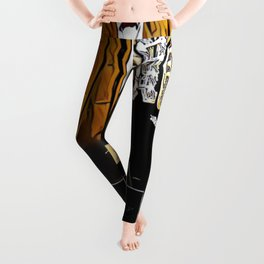 Stevie Ray Vaughan Exhibit - Family Style - Painting Leggings