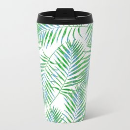 Fern Leaves Travel Mug